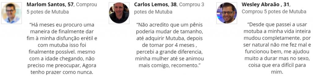 Depoimentos Mutuba