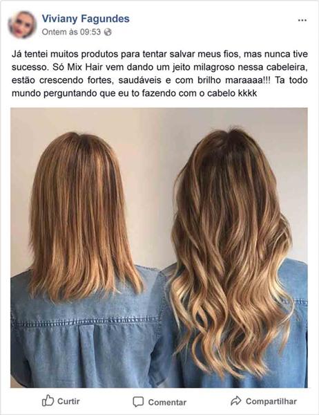 resenha mix hair