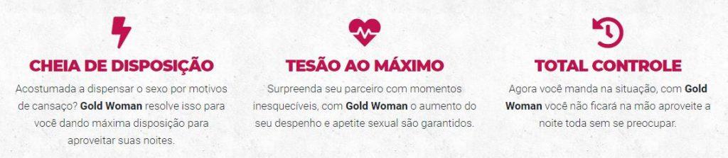 Benefícios Gold Woman