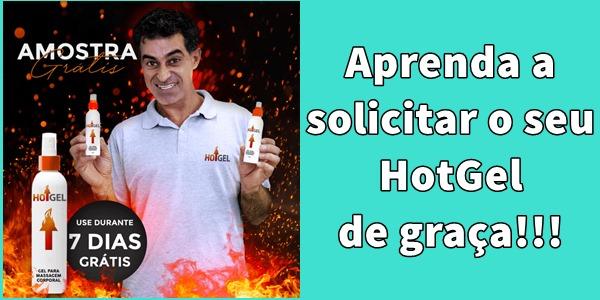 HotGel amostra grátis