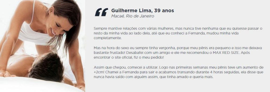 Depoimento Guilherme Max Red Size